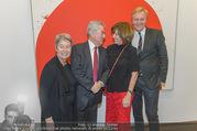 Markus Prachensky Ausstellung - Albertina - Di 17.01.2017 - Heinz und Margit FISCHER, Brigitte PRACHENSKY, K.A. SCHRÖDER27