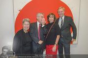 Markus Prachensky Ausstellung - Albertina - Di 17.01.2017 - Heinz und Margit FISCHER, Brigitte PRACHENSKY, K.A. SCHRÖDER28
