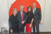 Markus Prachensky Ausstellung - Albertina - Di 17.01.2017 - Heinz und Margit FISCHER, Brigitte PRACHENSKY, K.A. SCHRÖDER29