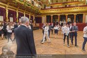 Spiegelsaal Eröffnung - Musikverein - Mi 18.01.2017 - Thomas SCH�FER-ELMAYER bei der Generalprobe3