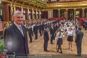 Spiegelsaal Eröffnung - Musikverein - Mi 18.01.2017 - Thomas SCH�FER-ELMAYER bei der Generalprobe6