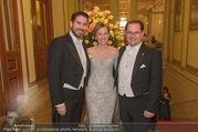 Philharmonikerball 2017 - Musikverein - Do 19.01.2017 - Andreas und Maria GRO�BAUER GROSSBAUER, Clemens UNTERREINER12