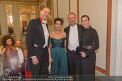 Philharmonikerball 2017 - Musikverein - Do 19.01.2017 - Thomas DROZDA mit Ehefrau Isabella, Andreas POKORNY, Sonja KATO50