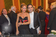 Philharmonikerball 2017 - Musikverein - Do 19.01.2017 - Juan Diego FLOREZ mit Ehefrau Julia TRAPPE86