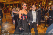 Philharmonikerball 2017 - Musikverein - Do 19.01.2017 - Juan Diego FLOREZ mit Ehefrau Julia TRAPPE97