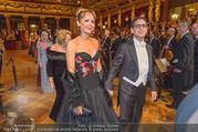 Philharmonikerball 2017 - Musikverein - Do 19.01.2017 - Juan Diego FLOREZ mit Ehefrau Julia TRAPPE98
