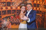 Opernball PK - Staatsoper - Mo 23.01.2017 - Alfons HAIDER, Deb�dantin Hannah12