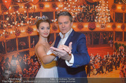 Opernball PK - Staatsoper - Mo 23.01.2017 - Alfons HAIDER, Deb�dantin Hannah14