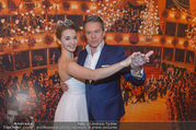 Opernball PK - Staatsoper - Mo 23.01.2017 - Alfons HAIDER, Deb�dantin Hannah16