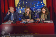 Opernball PK - Staatsoper - Mo 23.01.2017 - Maria GRO�BAUER GROSSBAUER, Dominique MEYER, Eva DINTSIS42