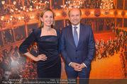 Opernball PK - Staatsoper - Mo 23.01.2017 - Maria GRO�BAUER GROSSBAUER, Dominique MEYER46