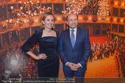 Opernball PK - Staatsoper - Mo 23.01.2017 - Maria GRO�BAUER GROSSBAUER, Dominique MEYER47