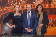 Opernball PK - Staatsoper - Mo 23.01.2017 - Maria GRO�BAUER GROSSBAUER, Dominique MEYER, Eva DINTSIS48