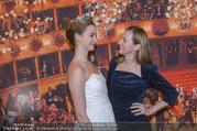 Opernball PK - Staatsoper - Mo 23.01.2017 - Maria GRO�BAUER GROSSBAUER mit Deb�dantin Hannah54