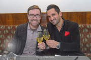 Jubiläumscocktail - Cafe Landtmann - Mi 25.01.2017 - Andie GABAUER, Fadi MERZA3