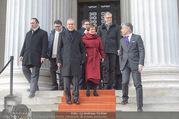 Angelobung Bundespräsident - Parlament und Volksgarten - Do 26.01.2017 - Alexander VAN DER BELLEN, Doris SCHMIDAUER100