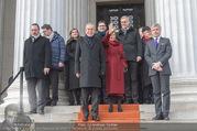 Angelobung Bundespräsident - Parlament und Volksgarten - Do 26.01.2017 - Alexander VAN DER BELLEN, Doris SCHMIDAUER101