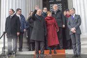 Angelobung Bundespräsident - Parlament und Volksgarten - Do 26.01.2017 - Alexander VAN DER BELLEN, Doris SCHMIDAUER103
