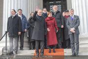 Angelobung Bundespräsident - Parlament und Volksgarten - Do 26.01.2017 - Alexander VAN DER BELLEN, Doris SCHMIDAUER104