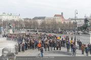 Angelobung Bundespräsident - Parlament und Volksgarten - Do 26.01.2017 - Menschenmenge, Volk105