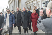 Angelobung Bundespräsident - Parlament und Volksgarten - Do 26.01.2017 - Alexander VAN DER BELLEN, Doris SCHMIDAUER107