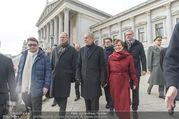 Angelobung Bundespräsident - Parlament und Volksgarten - Do 26.01.2017 - Alexander VAN DER BELLEN, Doris SCHMIDAUER109
