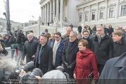 Angelobung Bundespräsident - Parlament und Volksgarten - Do 26.01.2017 - Alexander VAN DER BELLEN, Doris SCHMIDAUER113