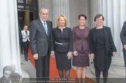 Angelobung Bundespräsident - Parlament und Volksgarten - Do 26.01.2017 - Alexander VAN DER BELLEN, Doris SCHMIDAUER, Doris BURES, S. LEDL16