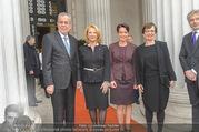 Angelobung Bundespräsident - Parlament und Volksgarten - Do 26.01.2017 - Alexander VAN DER BELLEN, Doris SCHMIDAUER, Doris BURES, S. LEDL18