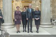 Angelobung Bundespräsident - Parlament und Volksgarten - Do 26.01.2017 - Alexander VAN DER BELLEN, Doris SCHMIDAUER, Doris BURES, S. LEDL19