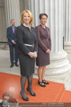 Angelobung Bundespräsident - Parlament und Volksgarten - Do 26.01.2017 - Doris BURES, Sonja LEDL-ROSSMANN2