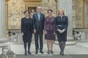 Angelobung Bundespräsident - Parlament und Volksgarten - Do 26.01.2017 - Alexander VAN DER BELLEN, Doris SCHMIDAUER, Doris BURES, S. LEDL20