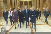 Angelobung Bundespräsident - Parlament und Volksgarten - Do 26.01.2017 - Alexander VAN DER BELLEN, Doris SCHMIDAUER, Doris BURES, S. LEDL23