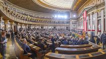 Angelobung Bundespräsident - Parlament und Volksgarten - Do 26.01.2017 - Innenraum Parlament Senatratssitzungssaal28