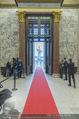 Angelobung Bundespräsident - Parlament und Volksgarten - Do 26.01.2017 - red carpet beim Eingang3