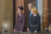 Angelobung Bundespräsident - Parlament und Volksgarten - Do 26.01.2017 - Alexander VAN DER BELLEN, Sonja LEDL-ROSSMANN, Doris BURES35