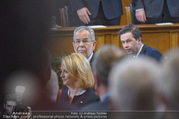 Angelobung Bundespräsident - Parlament und Volksgarten - Do 26.01.2017 - Alexander VAN DER BELLEN, Doris BURES37