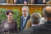 Angelobung Bundespräsident - Parlament und Volksgarten - Do 26.01.2017 - Alexander VAN DER BELLEN, Sonja LEDL-ROSSMANN38