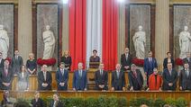 Angelobung Bundespräsident - Parlament und Volksgarten - Do 26.01.2017 - Bundesregierung39