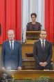 Angelobung Bundespräsident - Parlament und Volksgarten - Do 26.01.2017 - Sonja LEDL-ROSSMANN, Reinhold MITTERLEHNER, Christian KERN40