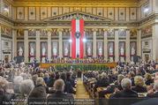 Angelobung Bundespräsident - Parlament und Volksgarten - Do 26.01.2017 - Bundesregierung, Minister42