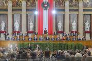 Angelobung Bundespräsident - Parlament und Volksgarten - Do 26.01.2017 - Bundesregierung, Minister43