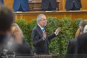Angelobung Bundespräsident - Parlament und Volksgarten - Do 26.01.2017 - Alexander VAN DER BELLEN48