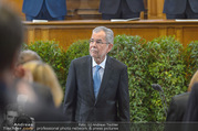 Angelobung Bundespräsident - Parlament und Volksgarten - Do 26.01.2017 - Alexander VAN DER BELLEN50