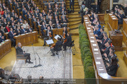 Angelobung Bundespräsident - Parlament und Volksgarten - Do 26.01.2017 - Alexander BELLEN60