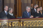 Angelobung Bundespräsident - Parlament und Volksgarten - Do 26.01.2017 - Margit und Heinz FISCHER62