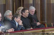 Angelobung Bundespräsident - Parlament und Volksgarten - Do 26.01.2017 - Waltraud KLASNIC, Andre HELLER, Hubert VON GOISERN65