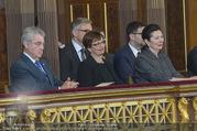 Angelobung Bundespräsident - Parlament und Volksgarten - Do 26.01.2017 - Heinz FISCHER, Doris SCHMIDAUER, Margot L�FFLER-KLESTIL78