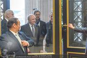 Angelobung Bundespräsident - Parlament und Volksgarten - Do 26.01.2017 - Erwin PR�LL (erwischt den falschen Eingang und musste umkehren)8
