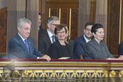 Angelobung Bundespräsident - Parlament und Volksgarten - Do 26.01.2017 - Heinz FISCHER, Doris SCHMIDAUER, Margot L�FFLER-KLESTIL80